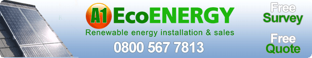 Advertising banner for A1 Eco Energy