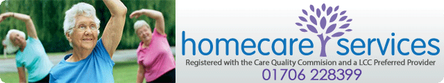 Advertising banner for Homecare Services